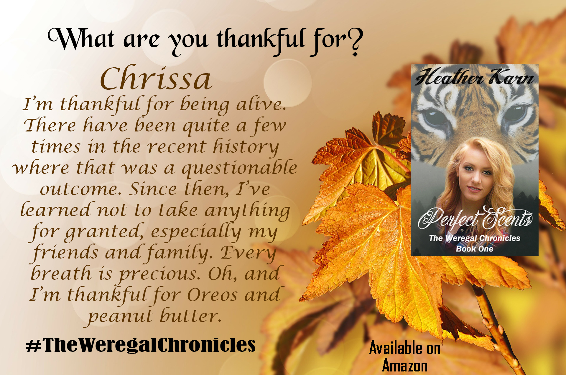 Chrissa Thankful